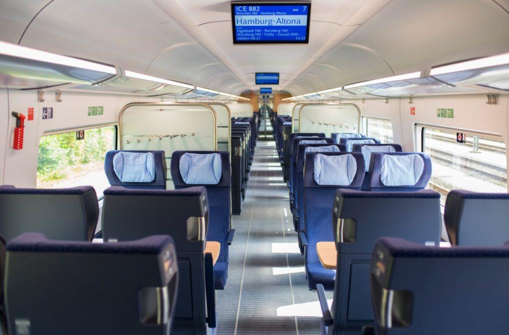 Deutsche Bahn tauscht Sitze in allen neuen ICE-Zügen aus