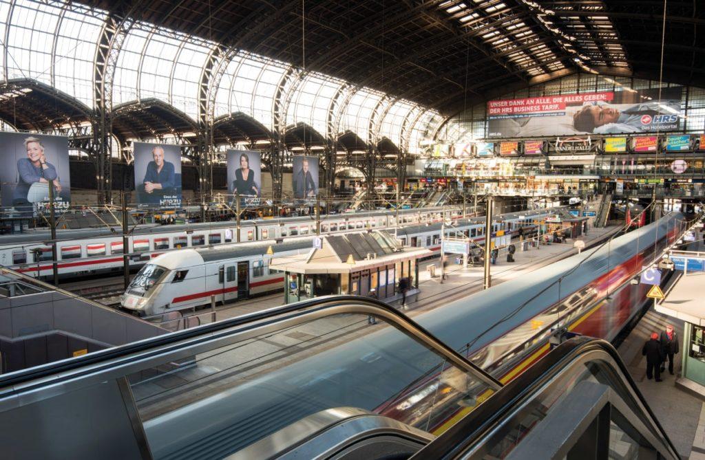 Hamburg: Hauptbahnhof erhält fünf neue Zugänge