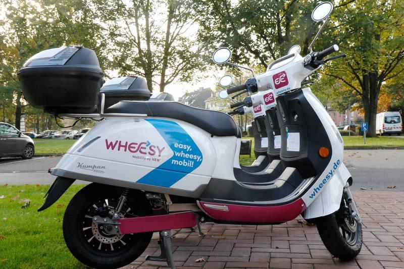 Mönchengladbach: NEW startet E-Roller-Sharing