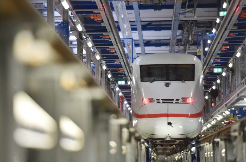Bahn baut neues ICE-Instandhaltungswerk in Nürnberg