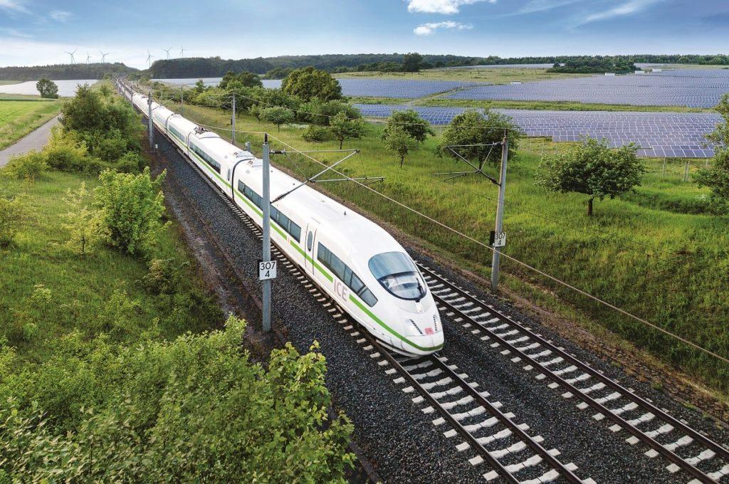 Deutsche Bahn baut Solarpark für eigenen Ökostrom