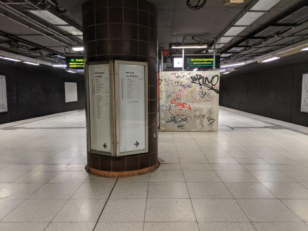 S-Bahnhof Harburg: Zwischenebene wird ab März weiter umgestaltet