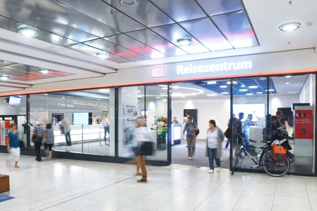 Deutsche Bahn: Reisezentren bleiben trotz Corona geöffnet
