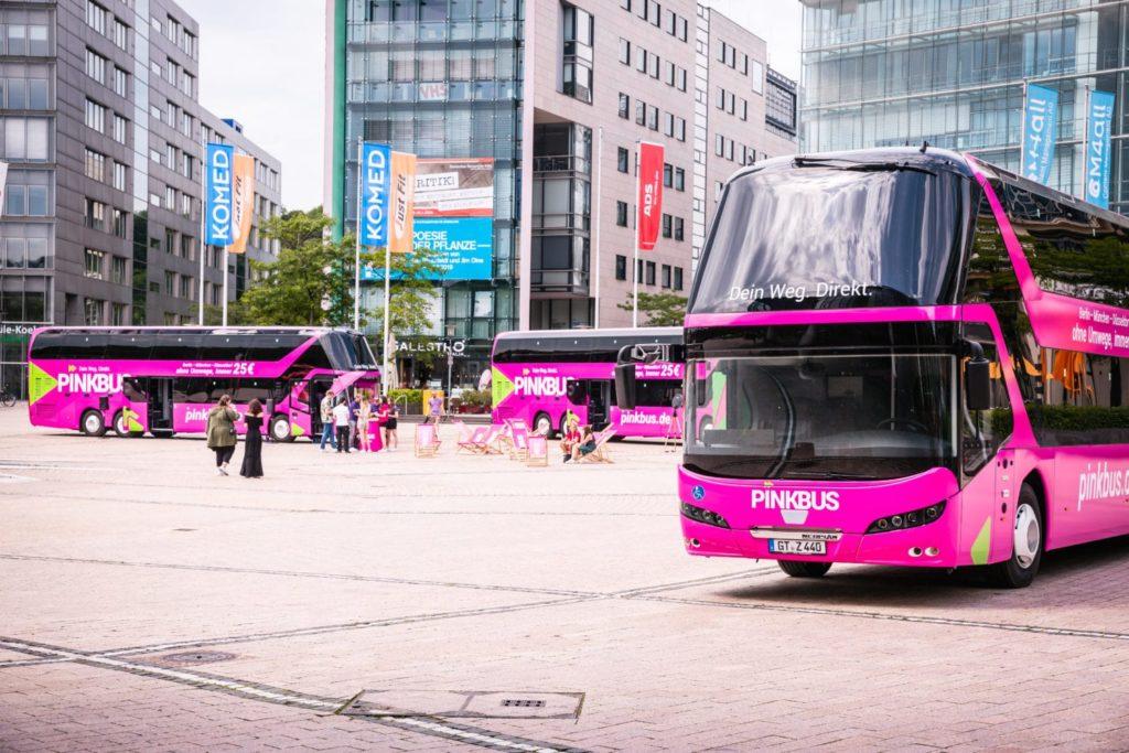 Pinkbus: Was sich seit dem Start vor acht Monaten verändert hat