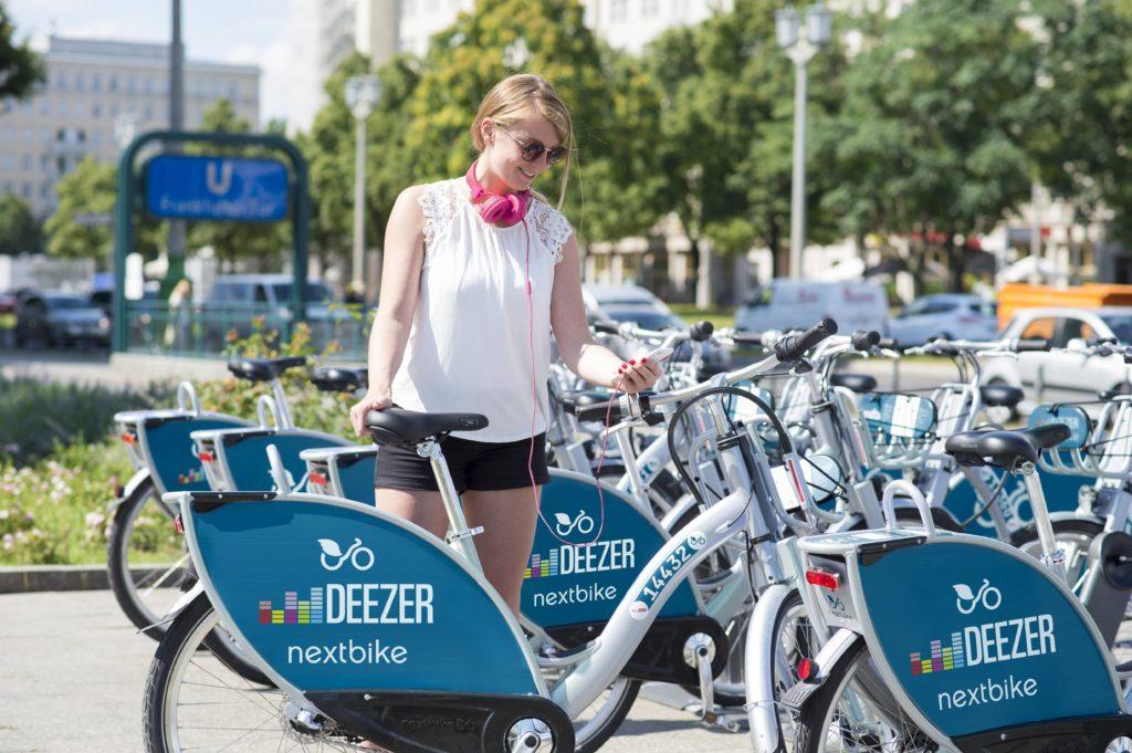 Nextbike arbeitet in Berlin nun mit EDEKA zusammen