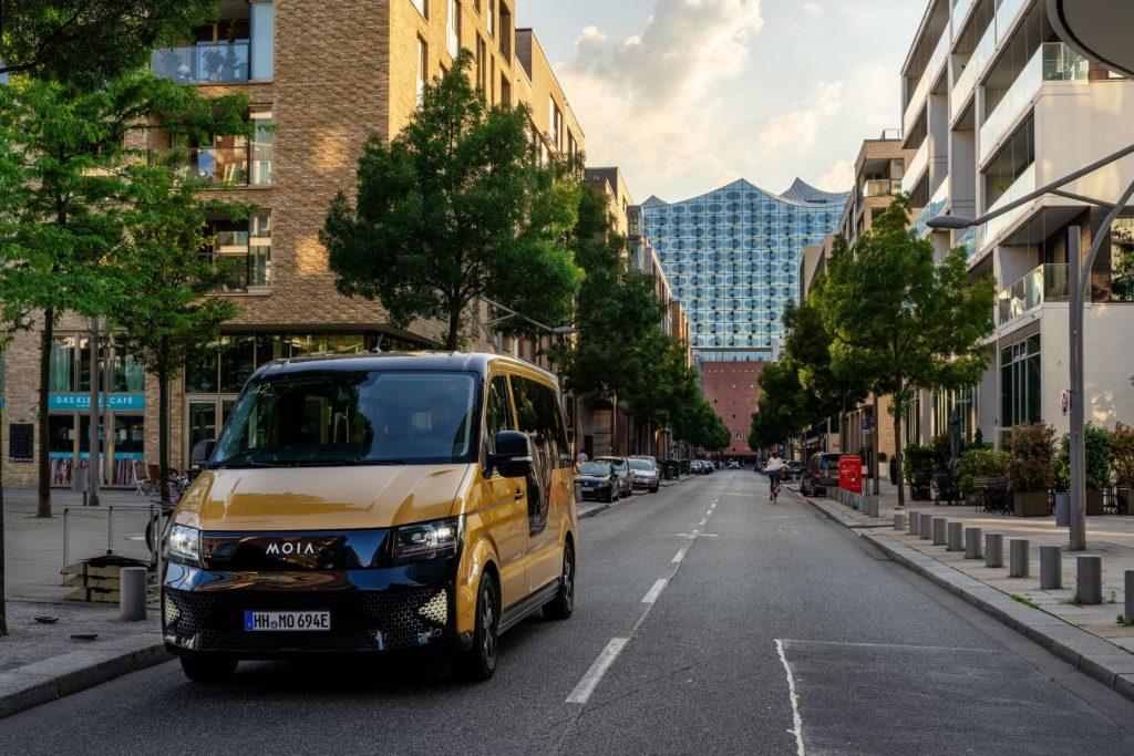 MOIA nimmt Betrieb in Hamburg im Juni wieder auf