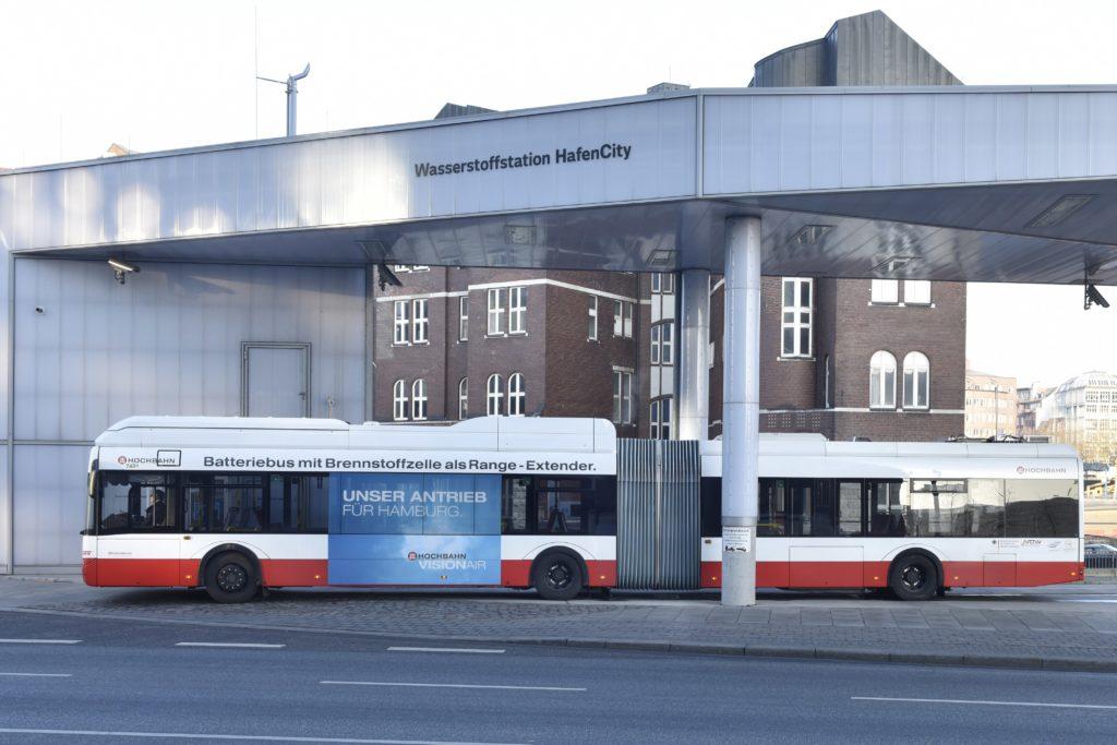 Hamburg: Hochbahn schreibt 50 neue Wasserstoff-Busse aus