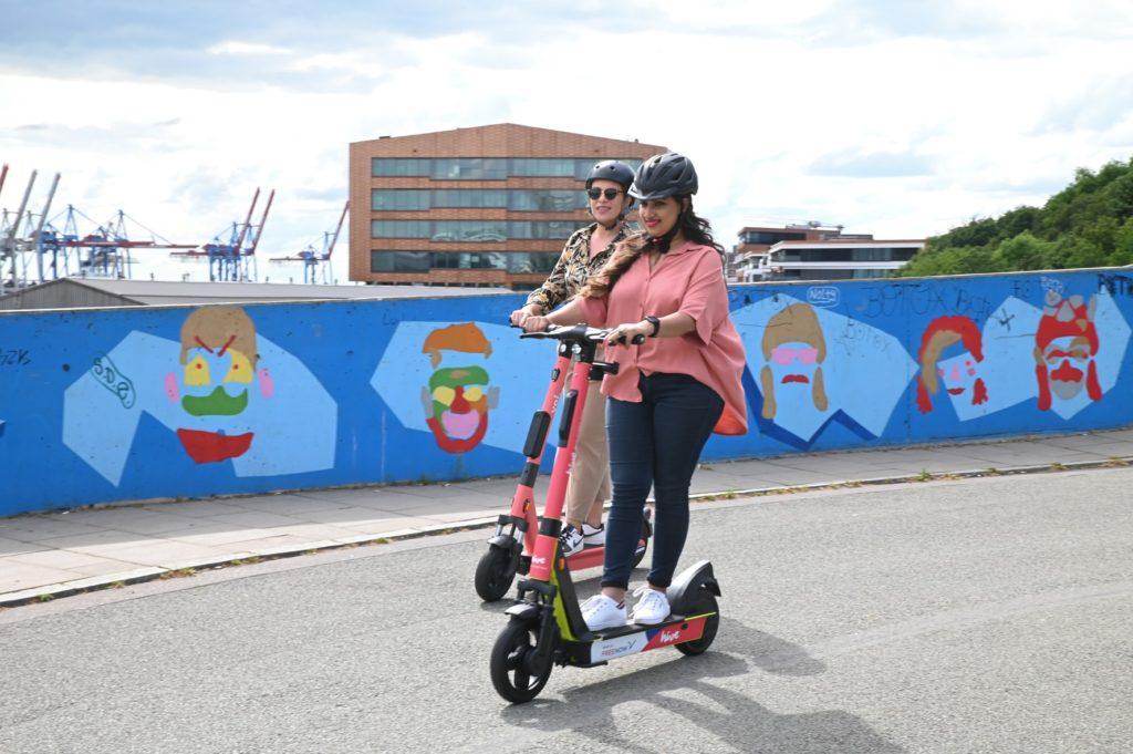 Hive: Weiterer E-Scooter-Anbieter startet in Hamburg