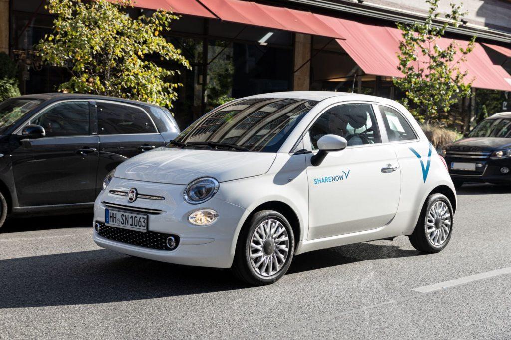 Share Now bietet nun auch den Fiat 500 an