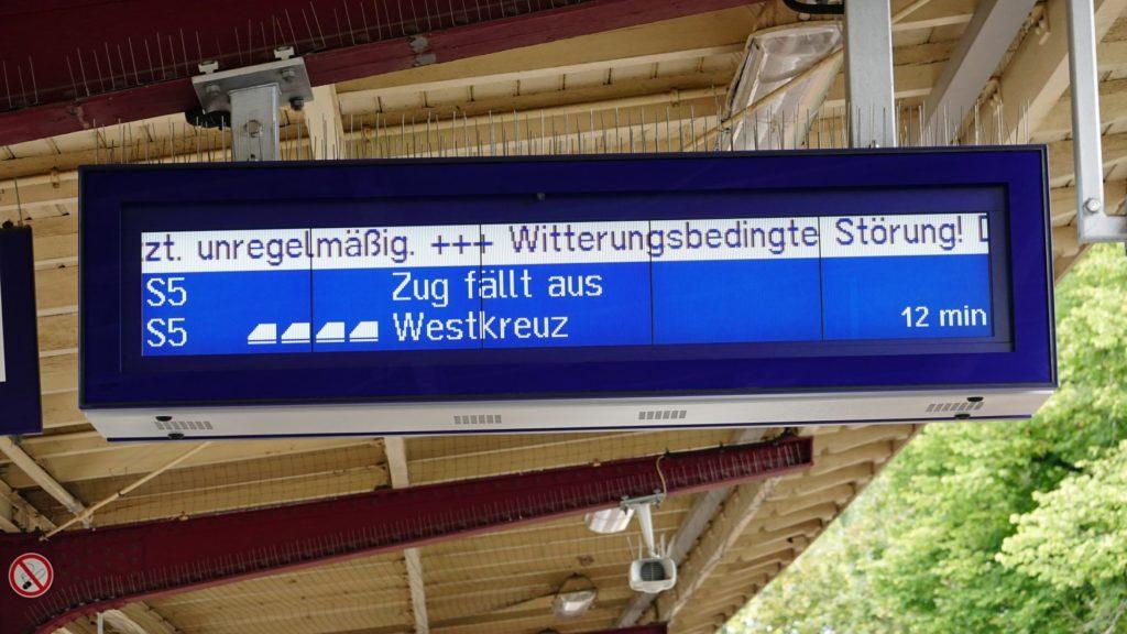 Db Zug Pünktlich
