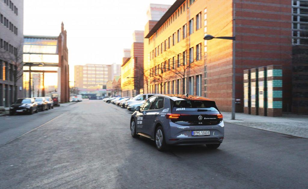 Miles: Carsharing-Anbieter setzt mit ID.3 erstmals Elektroautos ein