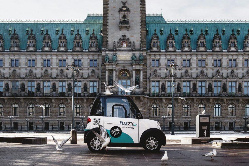 Flizzy: Neuer Carsharing-Dienst startet in Hamburg