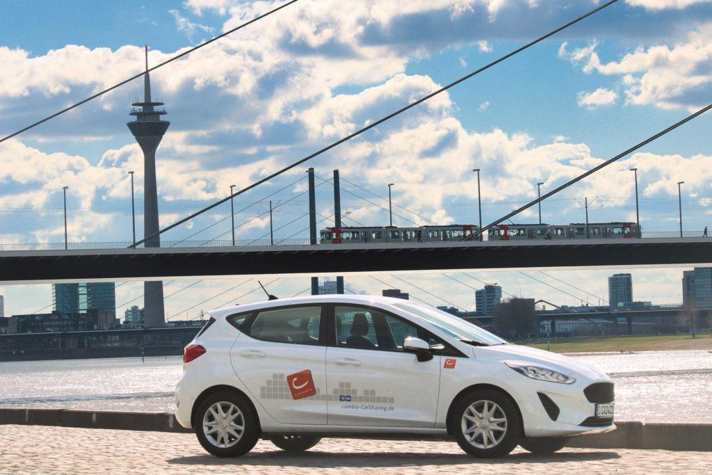 Cambio: Carsharing-Anbieter startet in Düsseldorf