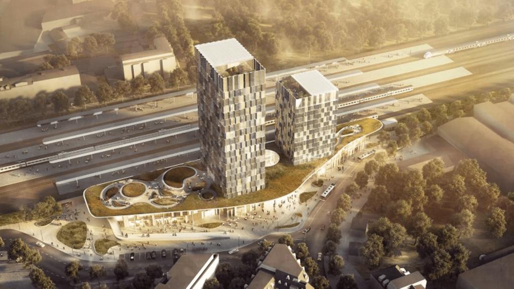 Hamburg: Bau des neuen Fernbahnhofs Diebsteich offiziell gestartet