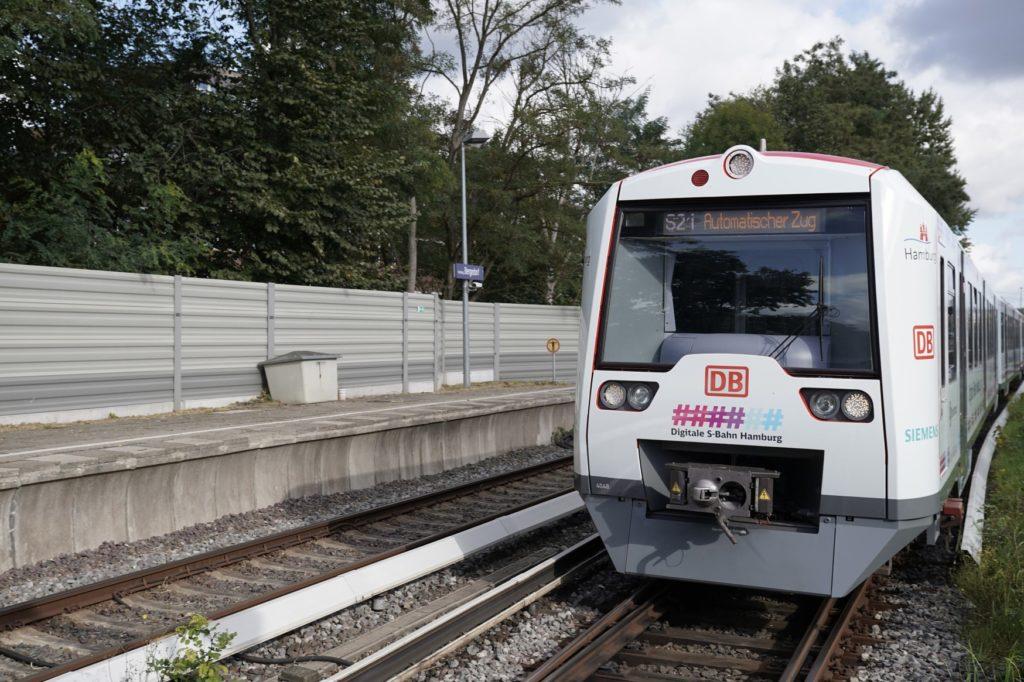 Hamburg: Erste digitale S-Bahn gestartet
