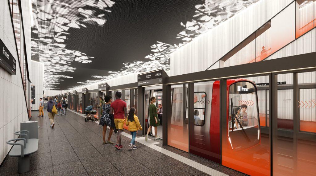 Hamburg: Östlicher Teil der U5 kann gebaut werden